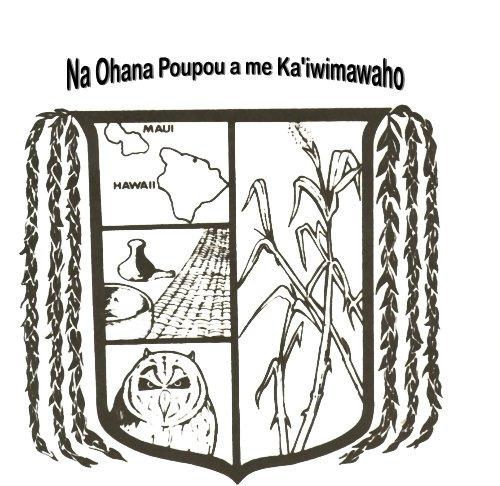 Nā 'Ohana Poupou a me Ka'iwimawaho family crest