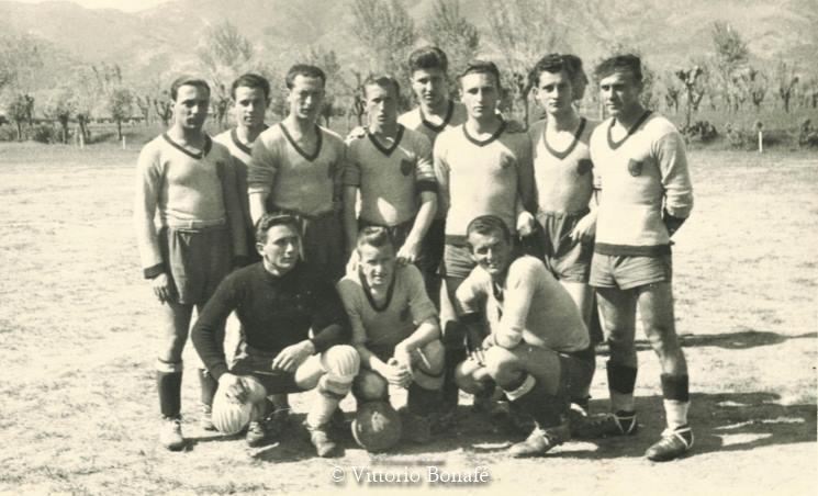 Calcio battaglia Terme, raccolta di Vittorio Bonafé