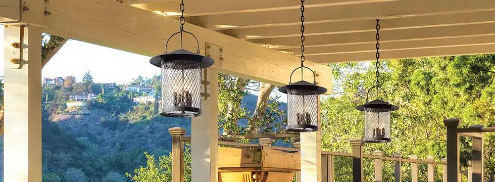 outdoor lighting lighting fans
