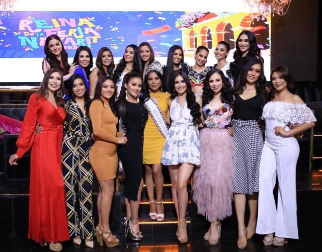 Aspirantes Reina de la Feria Nayarit 2020