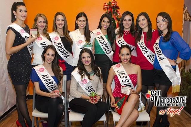Candidatas-a-reina-Feria-San-Marcos-2014