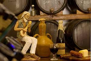 Vinho: Bebida faz parte da cultura da cidade<br>
