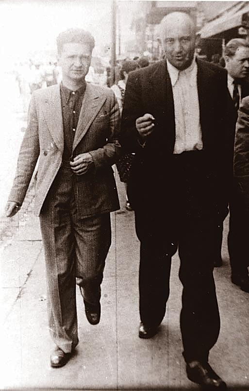 Petre Țuțea (dreapta)și Emil Cioran