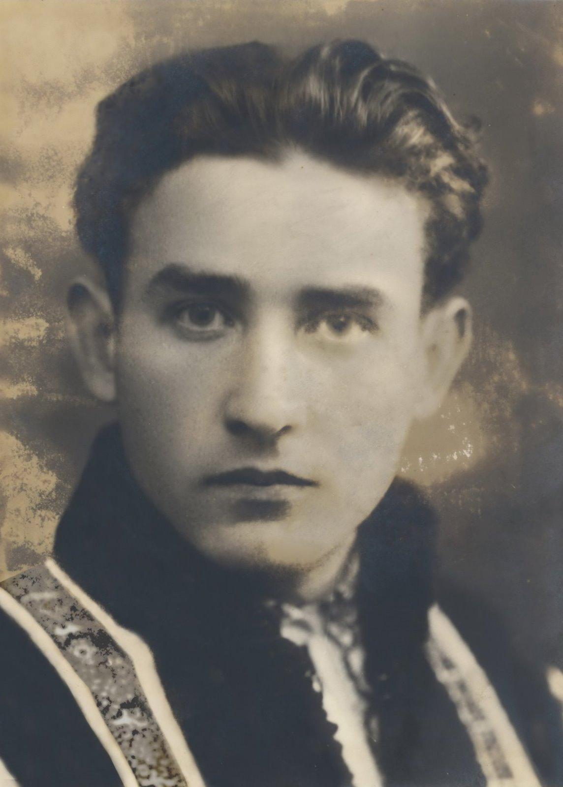 Valeriu - student la drept, Iași 1940