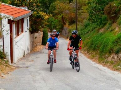 Mountainbike touren in kreta
