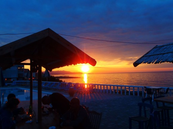 Sonnenuntergang Kreta