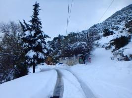Lassithi im Schnee
