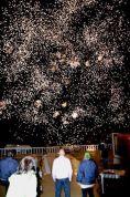 Neujahr Raketen Kreta 2015