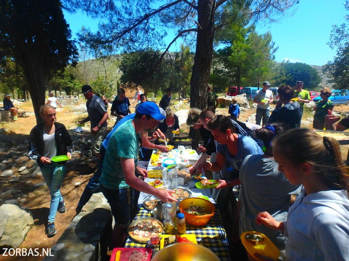 Kochen in den Bergen Kretas