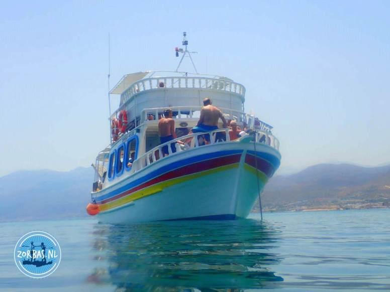 Boot fahren auf Kreta