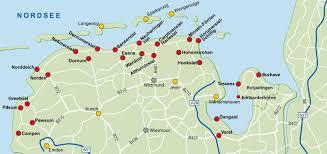 NordseeServiceCard beteiligte Orte