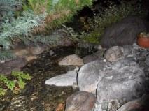 Der Bachlauf bei Nacht