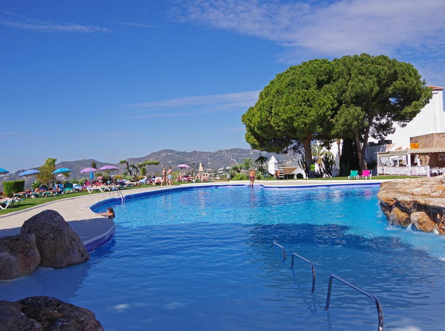 San Juan de Capistrano Nerja pool