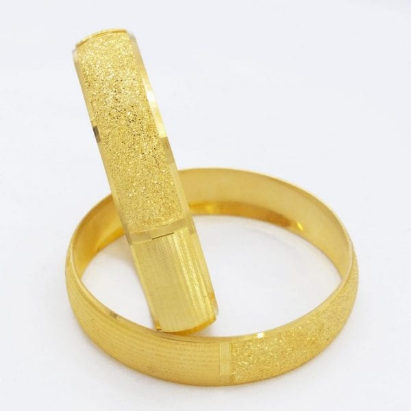 FerizZ Altın Kaplama Aygül Model 15 mm Bilezik