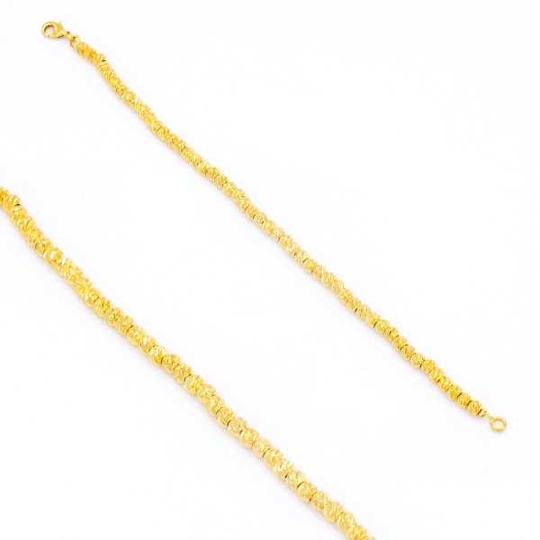Altın Kaplama Dorika Şık Bayan Bileklik BLK-136