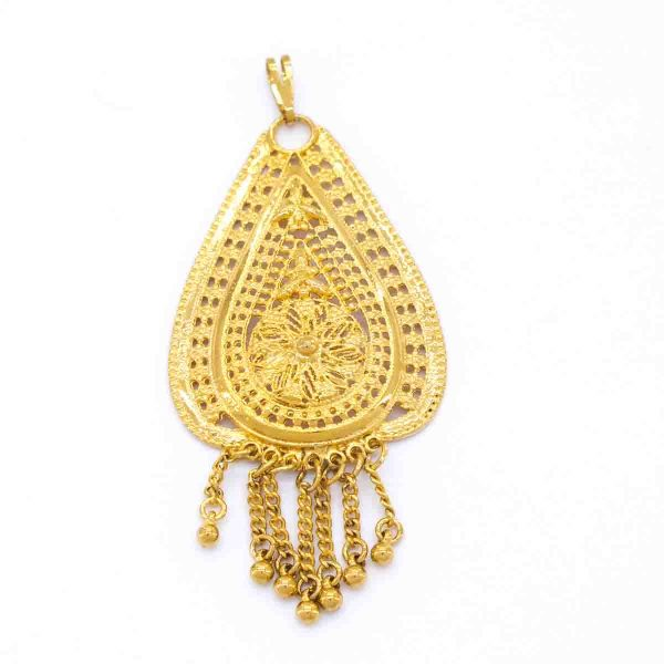 Altın Kaplama Kolye Ucu TGR-246