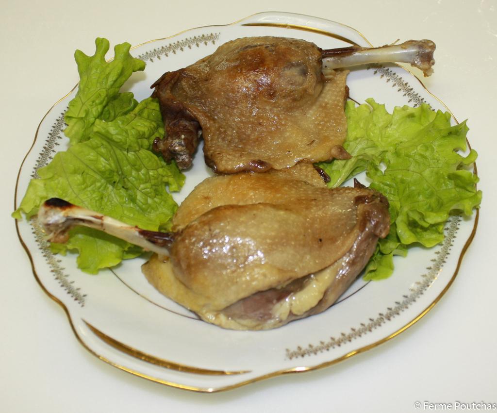 Cuisse de Canard en confit, 2 cuisses