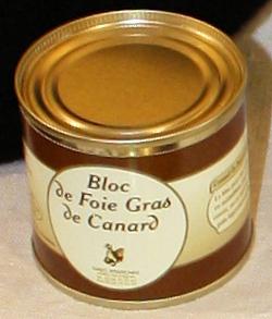 Ferme Poutchas - bloc de Foie de canard 90g