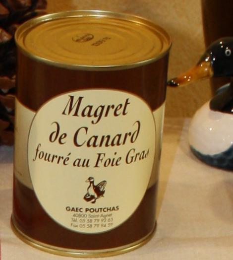 Ferme Poutchas - MAGRET DE CANARD FOURRÉ AU FOIE GRAS