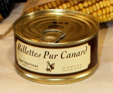 Ferme Poutchas - RILLETTES PUR CANARD
