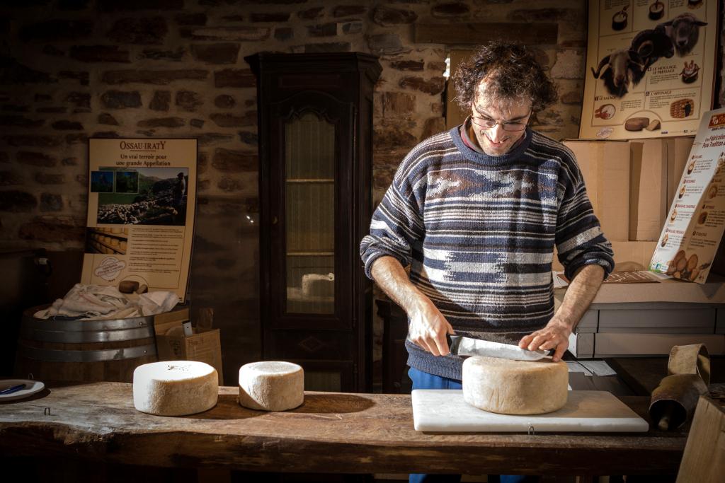 Le fromage de brebis Ossau Iraty