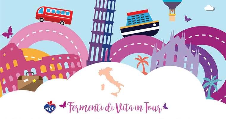 TOUR FERMENTI DI VITA  2018…. TO START ❤️