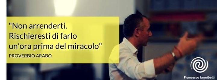 CALENDRIO EVENTI FRANCESCO IANNIBELLI OTTOBRE, NOVEMBRE, DICEMBRE