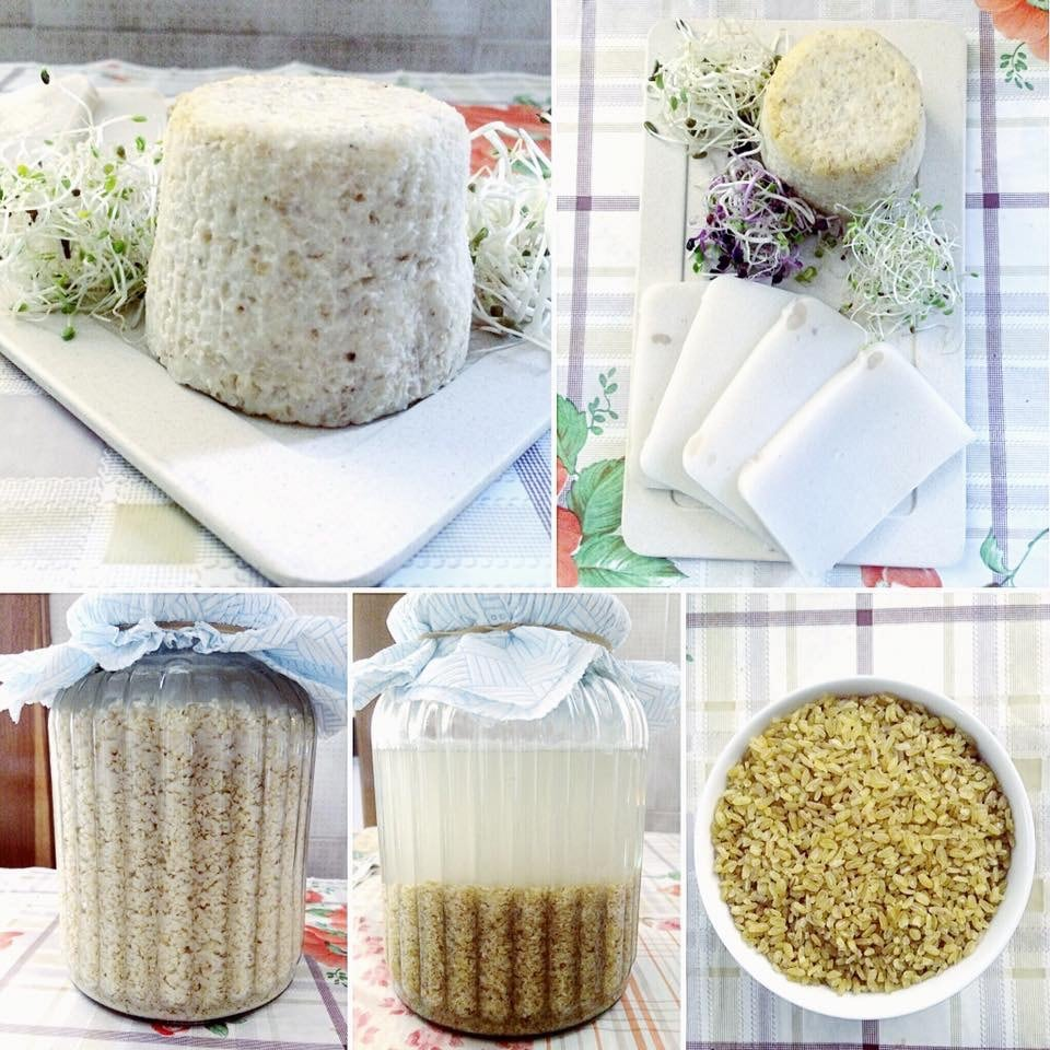 KECHEK e MOZZARELLA VEG con cereale bulgur by Vale Pastorelli