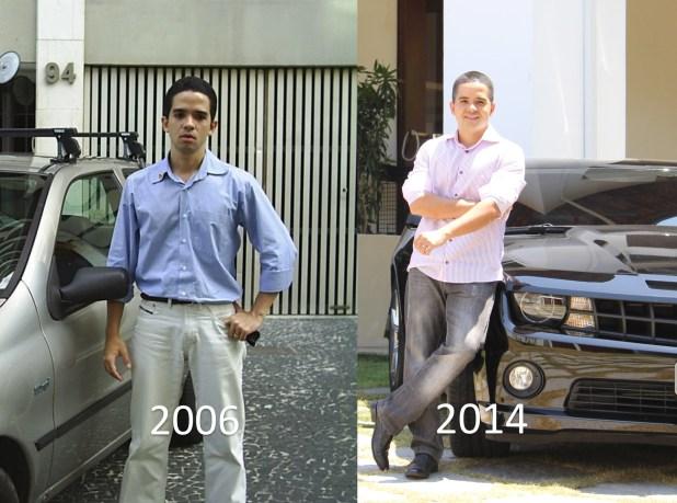 fernando augusto antes e depois da fama