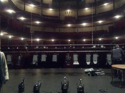 Gran Teatro de Cáceres. Lleno.