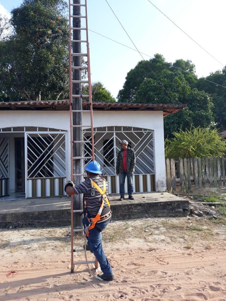 Iluminação pública melhora a vida de moradores do Povoado Santo Antonio