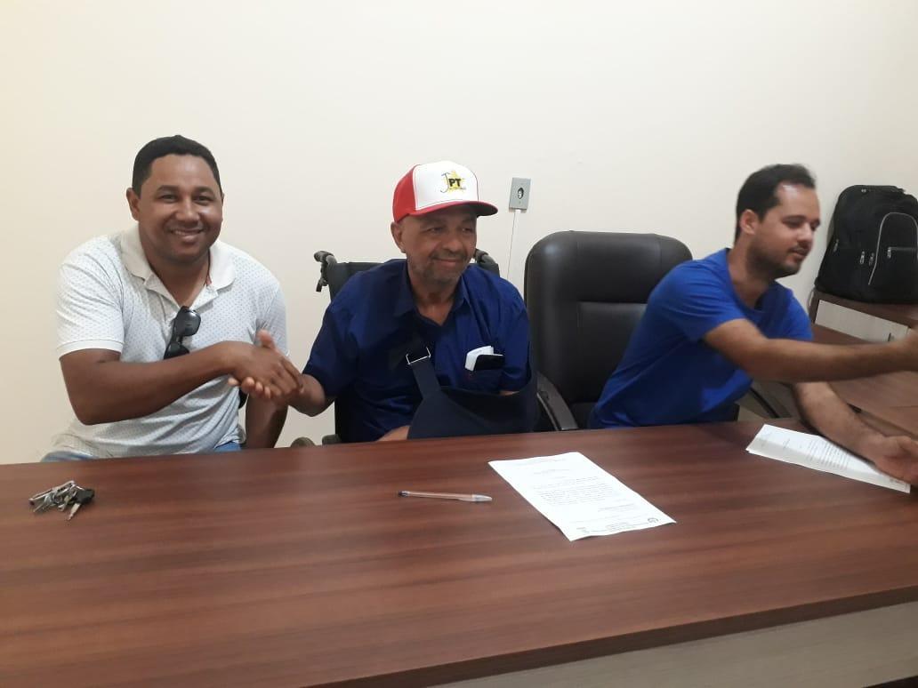 Indalécio nomeia novo secretário de agricultura de Governador Nunes Freire