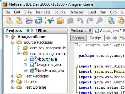 Imagem do NetBeans 6