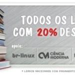 Promoção de livros LinuxMall