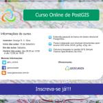 Curso Online de PostGIS, inscrições abertas!