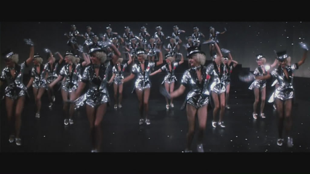 Broadway-style opening number....