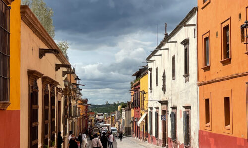 Calle in Mexico