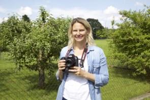 Fotokurs Grassau - ganz schön schwer so eine Spiegelreflexkamera