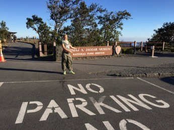 Big Island Hawaii - Jaggar Museum National Park Volcano - no parking
