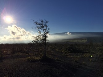 Big Island Hawaii - Sonnenuntergang National Park Volcano