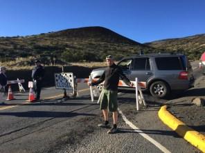 Big Island Hawaii - Visitor Center Mauna Kena - Summit closed