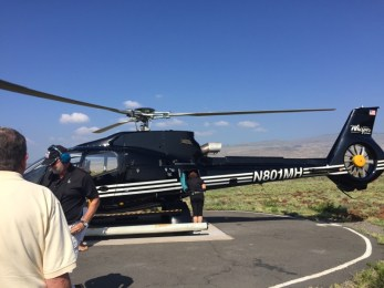 Big Island Hawaii - Hapuna Beach - Sunshine Helicopter