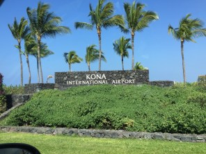 Big Island Hawaii - Kona International Airport