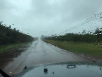 Molokai Hawaii - der Regen war heftig