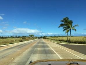 Kauai Hawaii - endlich schönes Wetter - auf dem Weg zum Haus 1