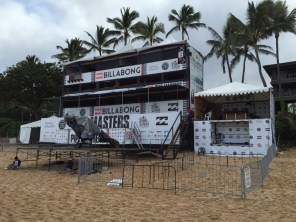 Billabong Pipemasters Hawaii Northshore 2014 - kein Take off, da schlechtes Wetter