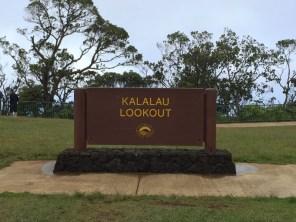 Kauai Hawaii - Weimea Canyon - Kalalau Lookoutschild