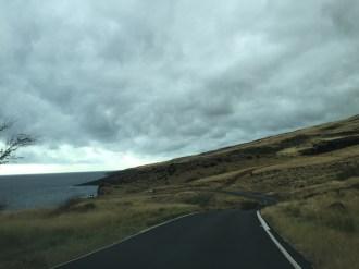 Maui Hawaii - Strasse im Süden - 1a geteerte Strasse