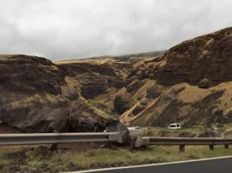 Maui Hawaii - Strasse im Süden - schöne Lavalandschaften