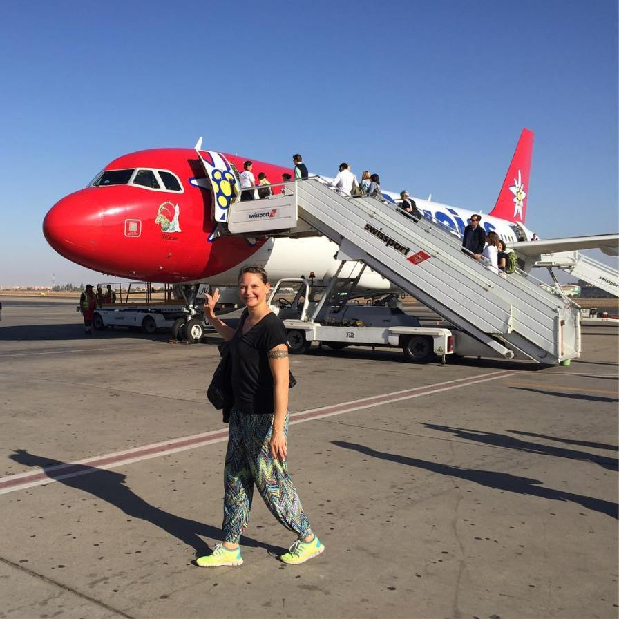 By by marrakech ✈️🌴🐫 .... Und wie passend : back Home To munich - Oktoberfest with edelweissair 😀